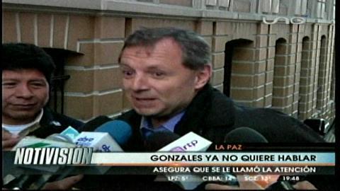 Gringo Gonzáles ya no quiere hablar sobre debates, asegura que le llamaron la atención