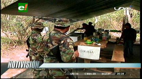 Destruyen mega laboratorio de cocaína en Pailón