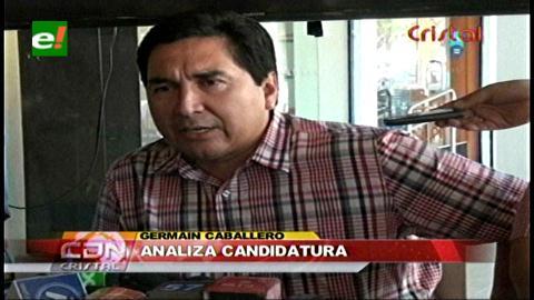 Proponen a Germaín Caballero como candidato a Gobernador de Santa Cruz