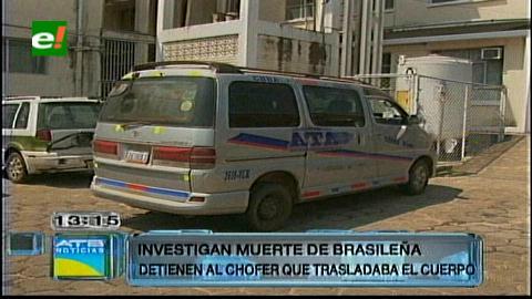 Retienen el minibús que trasladaba el cuerpo de la brasilera que murió tras una cirugía estética