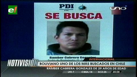 Un boliviano es uno de los más buscados en Chile