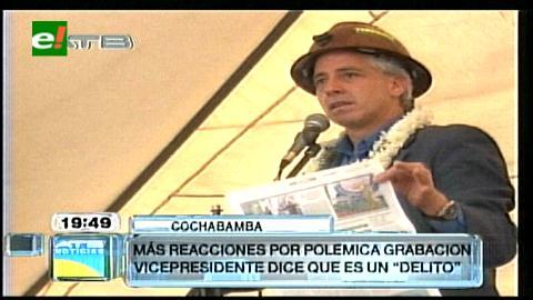 García Linera: Samuel es un protector de pega mujeres