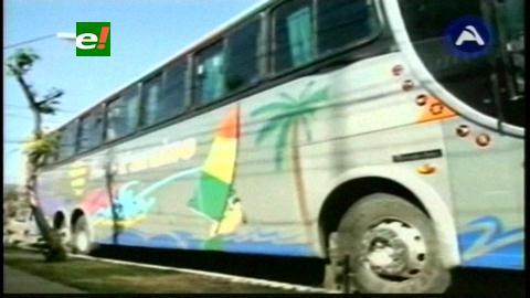 FELCN incauta bus con más de 20 paquetes de droga