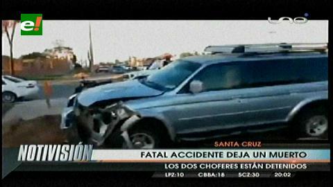 Santa Cruz: Fatal accidente de tránsito deja un muerto