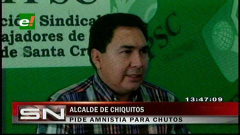 """Alcalde de San José de Chiquitos pide una amnistía para vehículos """"chutos"""""""
