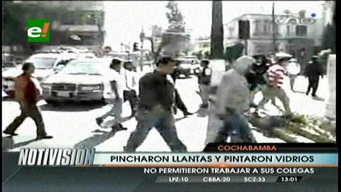 Cochabamba: Cuatro protestas convulsionan la ciudad