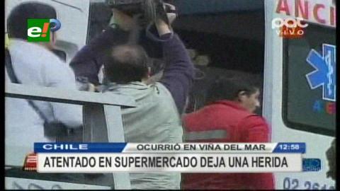 Nuevo atentado en Chile: una bomba en Viña del Mar dejó una herida