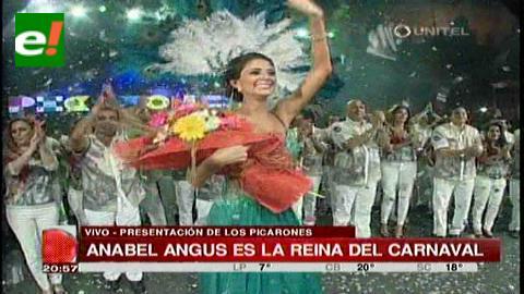 Los Picarones proclaman a Anabel Angus como la Reina del Carnaval Cruceño 2015 [Video]