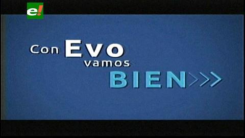 Primer spot de campaña de Evo