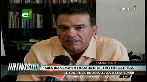 "Ex zar antidroga Ernesto Justiniano: ""Obama descertifica y Evo descalifica"""