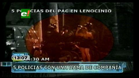 Cochabamba: Sorprenden a policías saliendo de un lenocinio