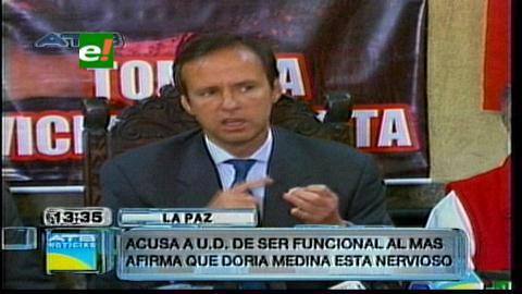 """""""Tuto"""" dice que Doria Medina cae como bolsa de cemento y lo desafía a debatir"""