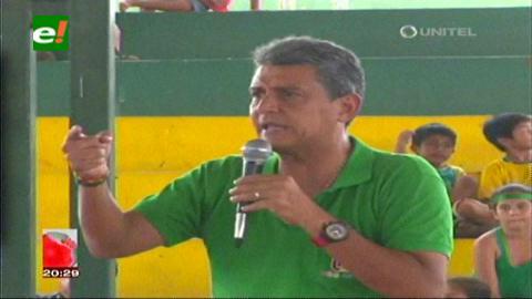Suárez: Utilizan recursos del plan Patujú para la campaña de Evo
