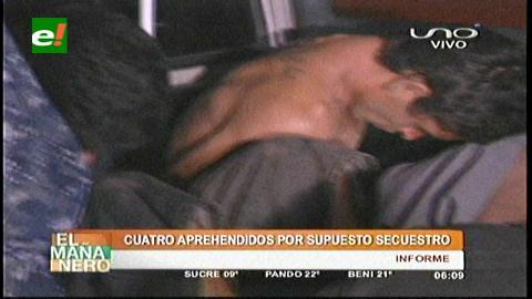 4 detenidos por un supuesto secuestro