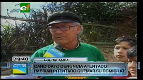 "Filemón Escobar denuncia que ""masistas"" intentaron quemar su casa"