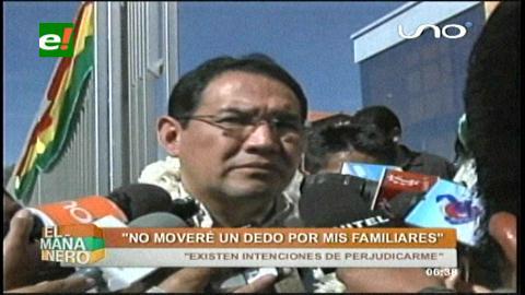 Fiscal Guerrero: «No moveré un dedo por mis familiares»