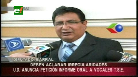 Vocales del TSE serán interpelados por irregularidades denunciadas en las elecciones