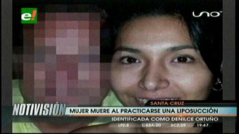 Investigan muerte de una joven médica por cirugía estética en una clínica de Santa Cruz