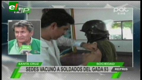600 conscriptos son vacunados contra Tétano y Difteria