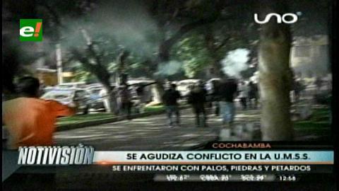 Cochabamba: Conflicto estudiantil deja 6 heridos