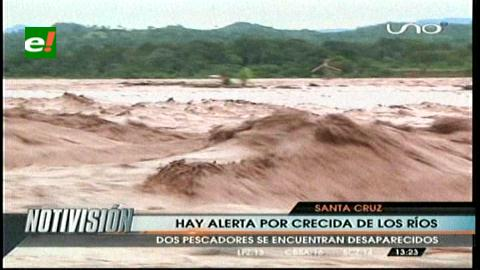 El río Ichilo supera los 13 metros, piden precaución