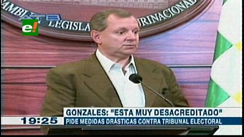Presidente del Senado se abre a evaluar actuación del Tribunal Electoral de Bolivia