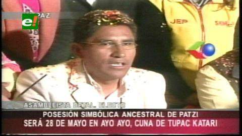 La Paz: Félix Patzi será investido en Ayo Ayo