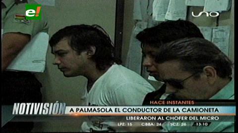 A la cárcel el chofer que causó muerte el domingo