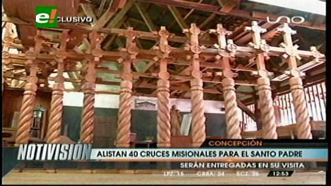 Concepción: Preparan 40 cruces para ser bendecidas