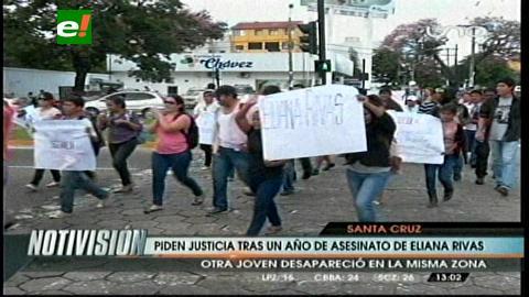 Piden justicia tras un año del asesinato de Eliana Rivas