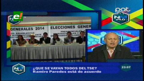 Expresidente del CNE considera «excesivo» el número de vocales en el TSE