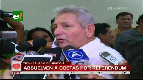 Rubén Costas absuelto en caso del referéndum autonómico