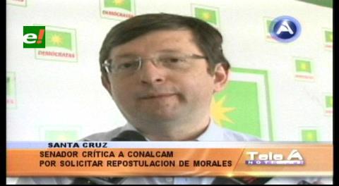 Senador Ortiz: «Los del Conalcam son títeres del Gobierno»