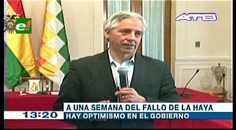 García Linera: «Decisión de La Haya marcará el horizonte del juicio marítimo de Bolivia a Chile»