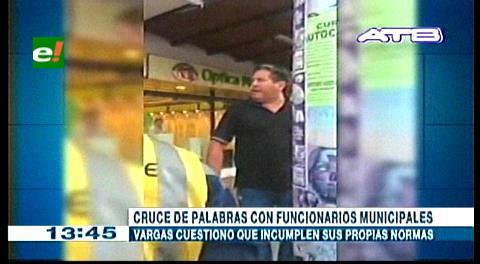 Óscar Vargas llama «pícaros y ladrones» a funcionarios de Tráfico y Transporte