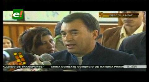 Quintana cree que el Papa no se refirío a Morales