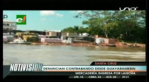 CAO denuncia el ingreso de productos de contrabando por Guayaramerín