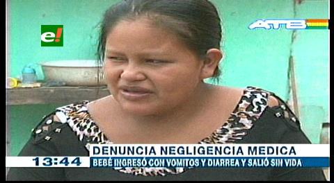 Mujer denuncia la muerte de su bebé por supuesta negligencia médica