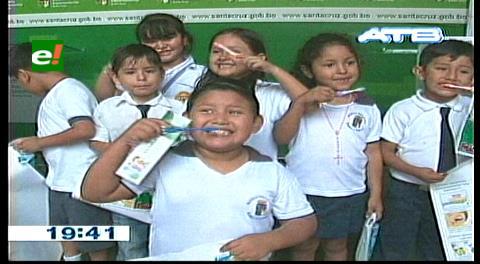 Gobernación cruceña lanza campaña de prevención de la salud oral