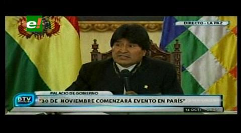 Evo acusa a la derecha paceña de frustrar proyecto nuclear en La Paz