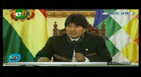 Morales anuncia que en noviembre cumplirá intensa agenda en países de Europa e Irán