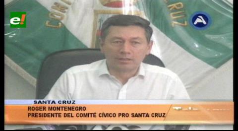 Conflicto Gobernación-chiquitanos: Cívicos cruceños rechazan cerco a Santa Cruz