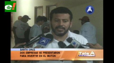 Dos empresas se presentaron para invertir en El Mutún