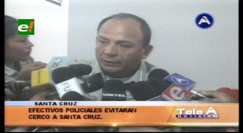 Cerco campesino a Santa Cruz: Policía no permitirá el bloqueo de carreteras