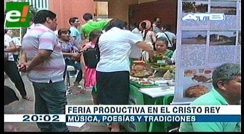 Feria cultural en el Cristo Rey