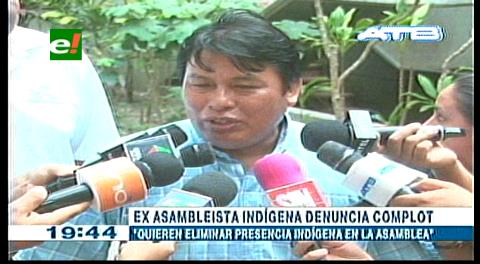 Santa Cruz. Indígenas denuncian 'plan golpista' del MAS en la Asamblea