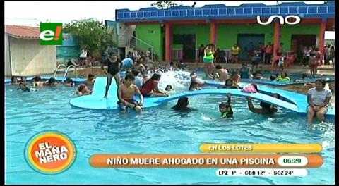 Santa Cruz: Menor muere ahogado en una piscina