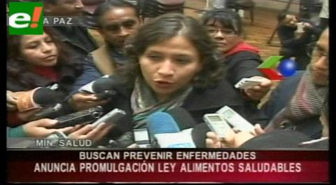 """Bolivia contará con ley de """"alimentación saludable"""""""