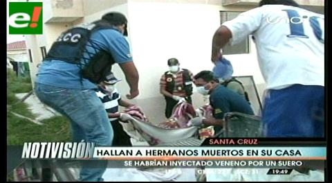 Santa Cruz: Hallan a dos hermanos muertos en su domicilio
