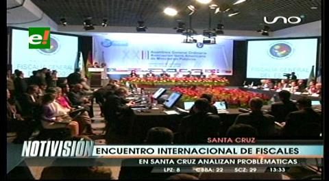Arrancó el encuentro de la Asociación Iberoamericana de Fiscales en Santa Cruz